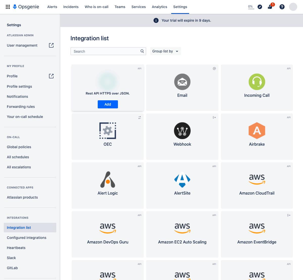 Add API integration