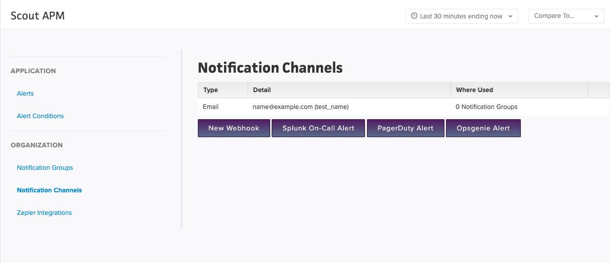 Create Pagerduty Channel