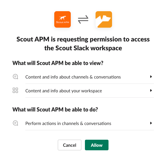 Give Authorization to Scout