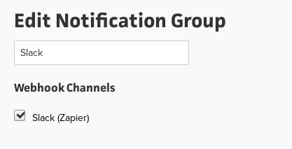 Create/Edit Notification Group